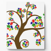Autism Tree of Life Plaque