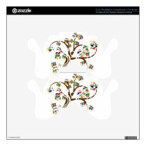 Autism Tree of Life PS3 Controller Decals