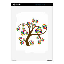 Autism Tree of Life Skins For The iPad 2