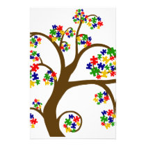 Autism Tree of Life Stationery
