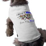 Autism Tribal Deco Ribbon Hero Doggie Shirt