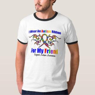 Autism Tribal Ribbon Friend T-Shirt