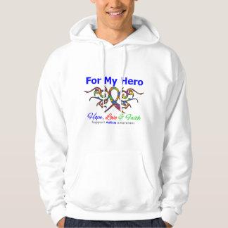 Autism Tribal Ribbon Hero Hoodie