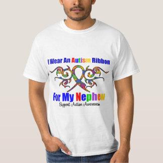 Autism Tribal Ribbon Nephew T-Shirt