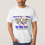 Autism Tribal Ribbon Son Tee Shirt