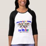 Autism Tribal Ribbon Son Tshirt