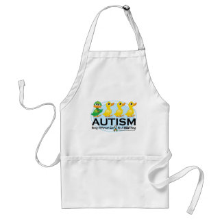 Autism Ugly Duckling Adult Apron
