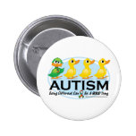 Autism Ugly Duckling Button