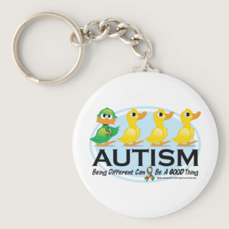 Autism Ugly Duckling Keychain