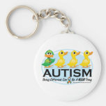 Autism Ugly Duckling Keychains