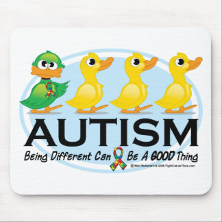 Autism Ugly Duckling Mouse Pad