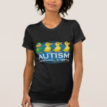 Autism Ugly Duckling T Shirts