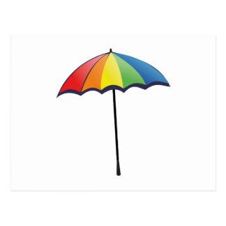 Autism Umbrella Postcard