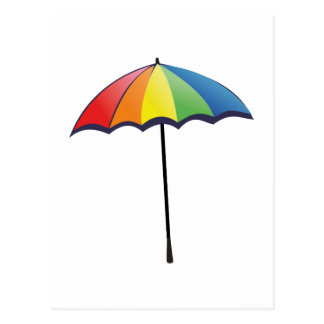 Autism Umbrella Postcard