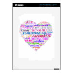 Autism Understanding Acceptance Products Decals For iPad 3