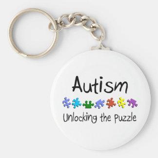 Autism Unlocking The Puzzle Keychains
