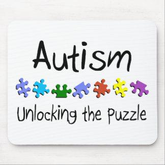 Autism Unlocking The Puzzle Mouse Pad