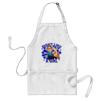 Autism Vintage Rosie Fight Like A Girl Apron