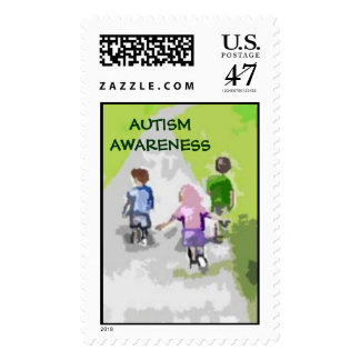 Autism Walk in the Park Stamps