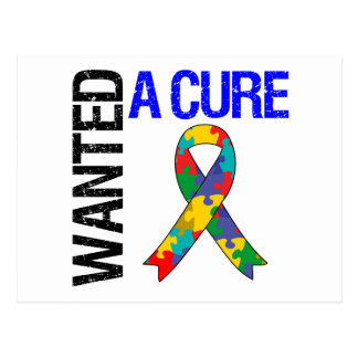 Autism Wanted A Cure Postcards