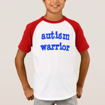 Autism Warrior Kid T-Shirt