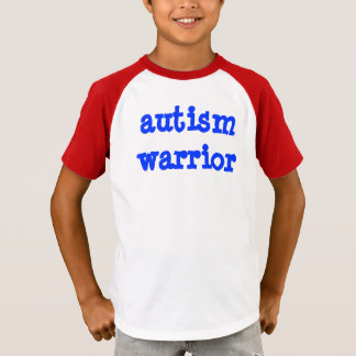 Autism Warrior Kid T-Shirt