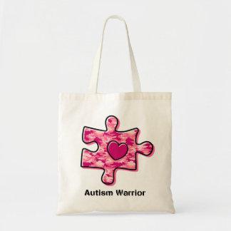 Autism Warrior Tote Bag
