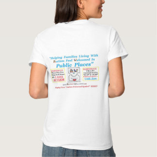 Autism Welcomed created for Adults with Autism Shirt