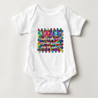 Autism What's Your Excuse Baby Bodysuit