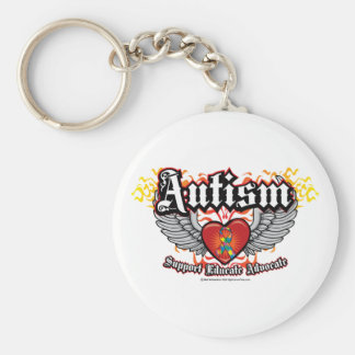 Autism Wings Keychain