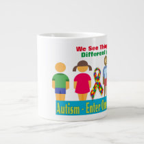 Autism World -Jumbo Mug