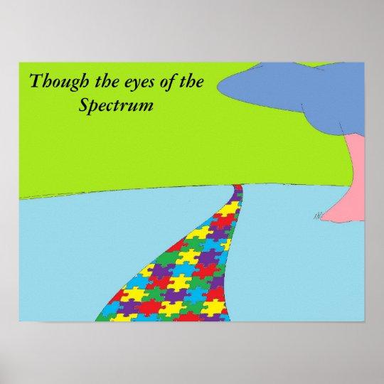 autism world poster