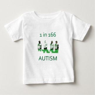 Autismo 1 en 166 playera