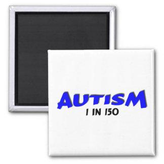 Autismo 1 en el azul 150 imanes para frigoríficos