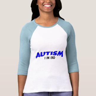 Autismo 1 en el azul 150 camisetas