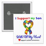 Autismo: Apoyo a mi hijo con todo mi corazón Pins
