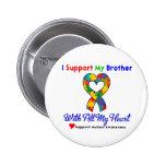 Autismo: Apoyo mi Brother con todo mi corazón Pins