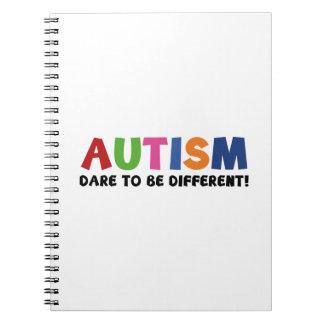 Autismo - atrevimiento a ser diferente libro de apuntes