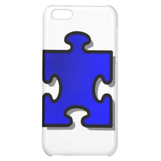 Autismo Awarenss, pedazo azul del rompecabezas, ar