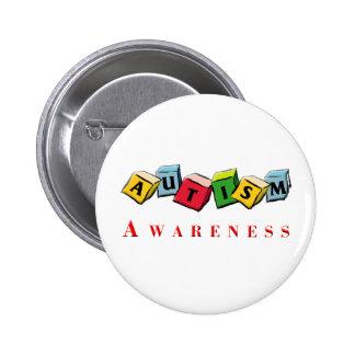 Autismo Awaress Pins