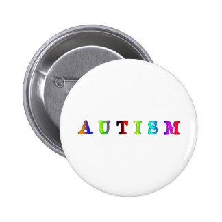 Autismo colorido pin
