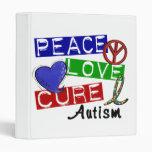 Autismo de la curación del amor de la paz