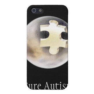 Autismo de la curación iPhone 5 funda