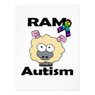 Autismo de RAM Invitacion Personalizada
