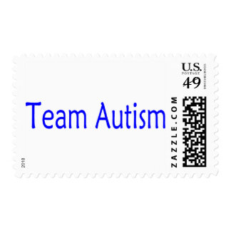 Autismo del equipo (azul) envio