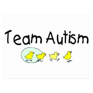 Autismo del equipo (polluelos) postal