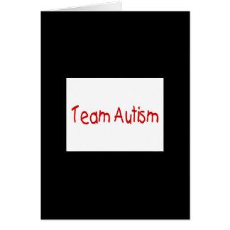 Autismo del equipo (rojo) - modificado para requis tarjeton