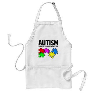 Autismo Delantal