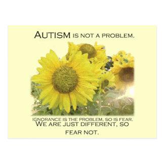 Autismo enterado postales