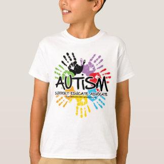 Autismo Handprint Playera